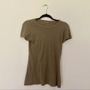 LA made green T-shirt
